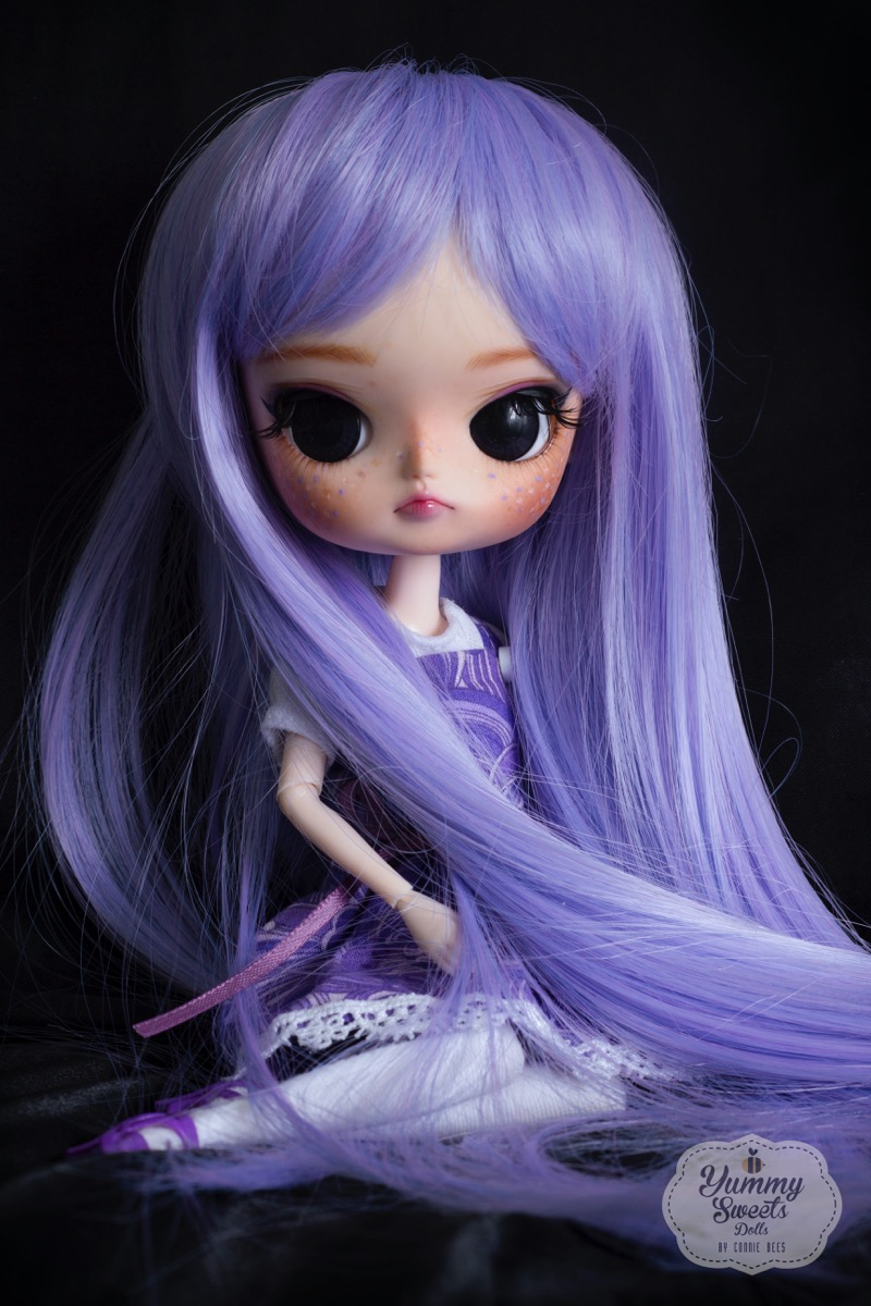 Lavender Tea Cookie by Yummy Sweets Dolls