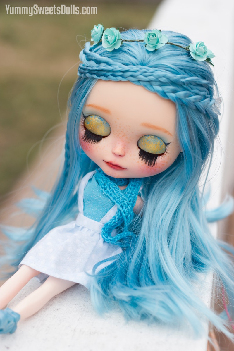 Blue Raspberry Pufflette by Yummy Sweets Dolls