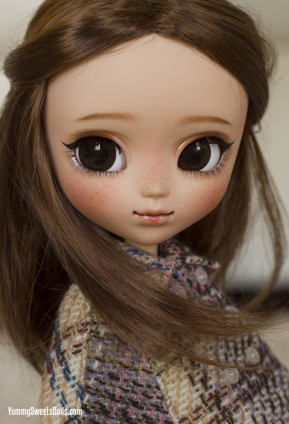sweet tea southern, custom pullip by yummy sweets dolls connie bees