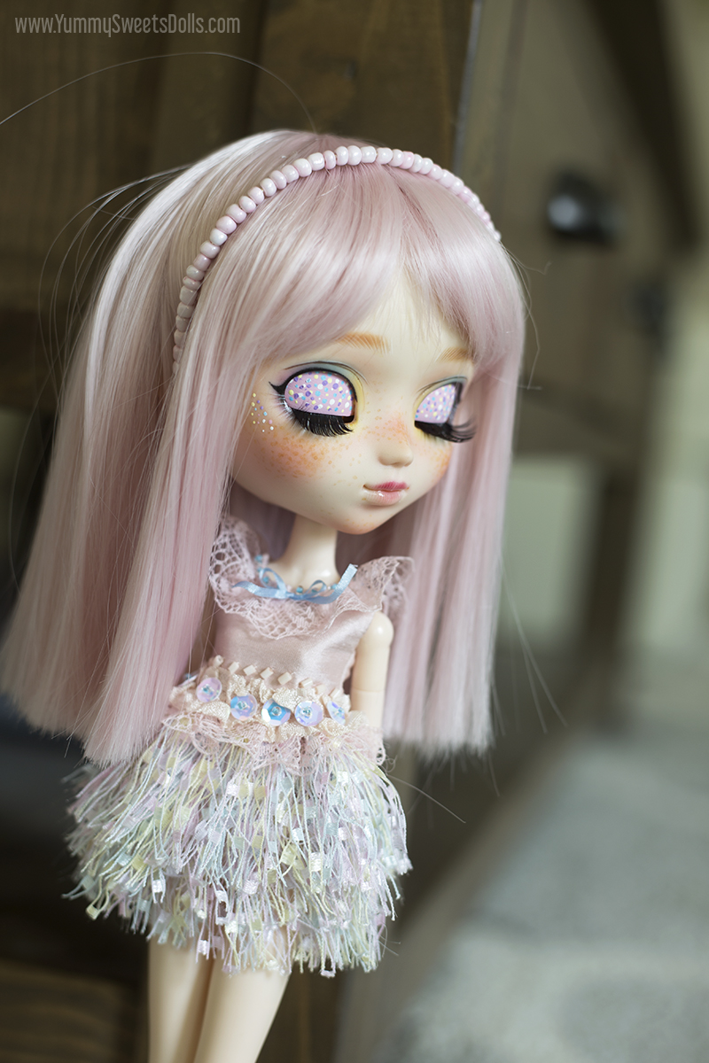 Pastel Rock Candy by Yummy Sweets Dolls, Connie Bees, Custom Pullip