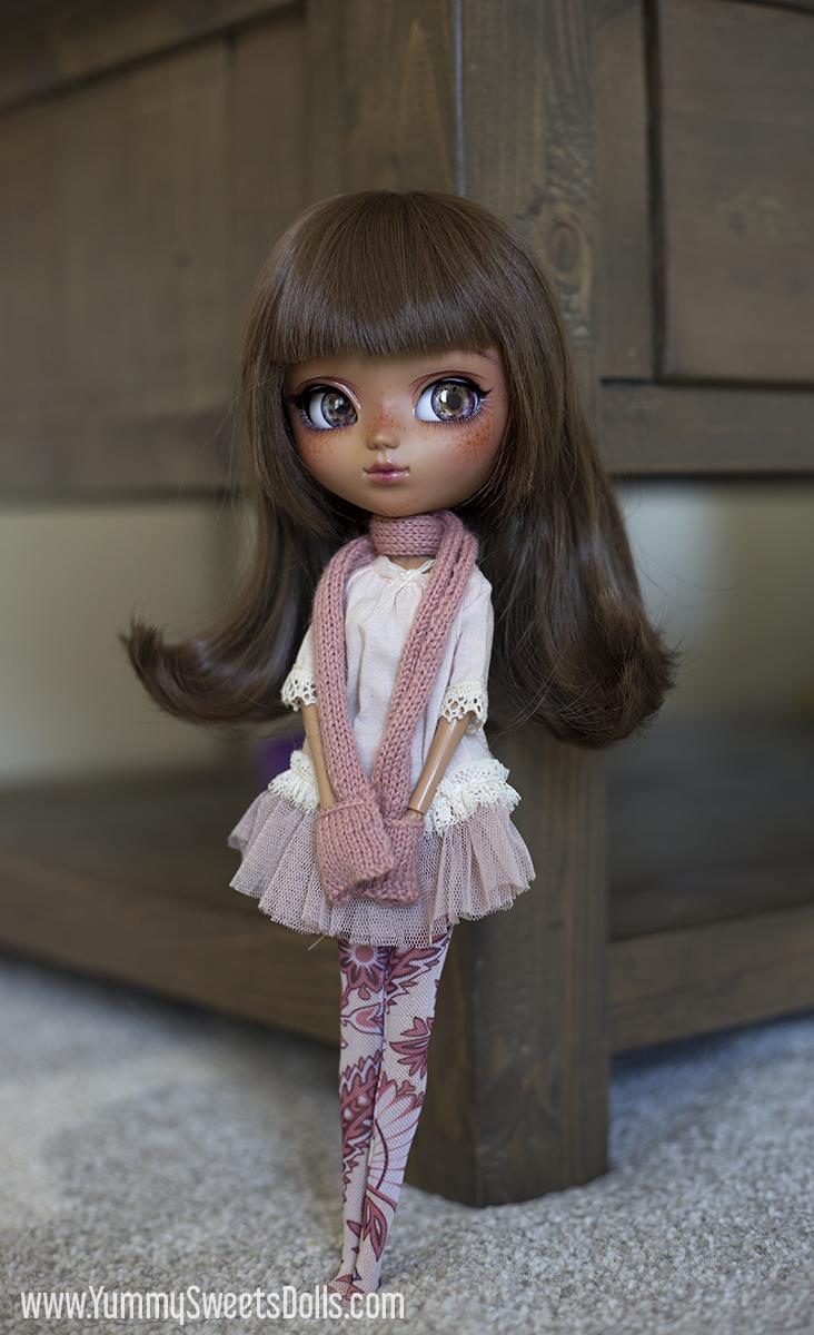 Strawberry Chocolate Roll Cake by Yummy Sweets Dolls, Full Custom Pullip