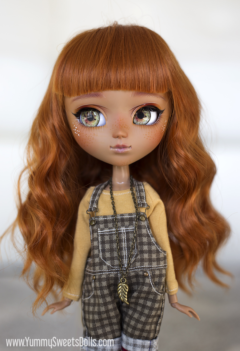 Pumpkin Cranberry Parfait, Custom Pullip by Yummy Sweets Dolls