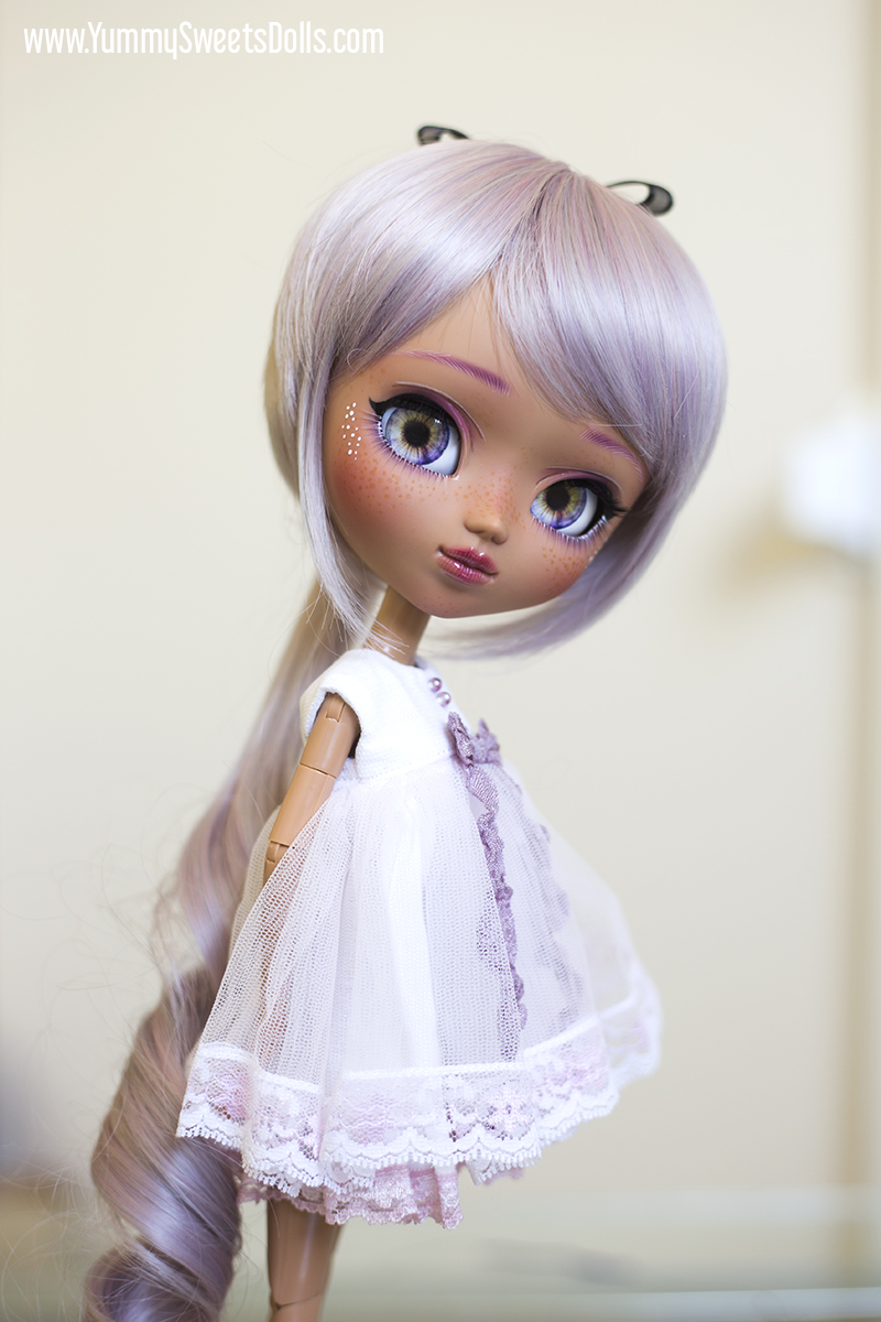 Ube Macaron custom Pullip by Yummy Sweets Dolls, Connie Bees