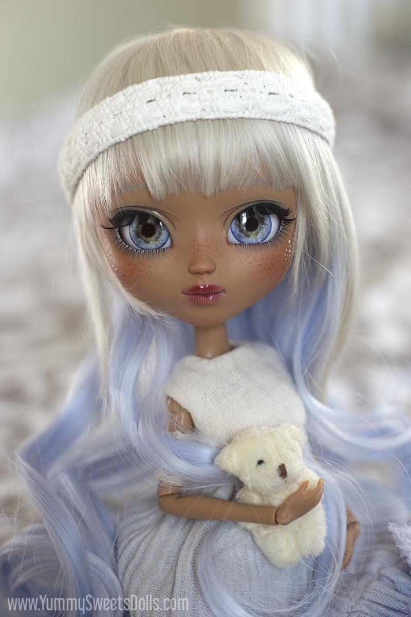 Blue Raspberry Milkshake custom Pullip by Yummy Sweets Dolls, Connie Bees