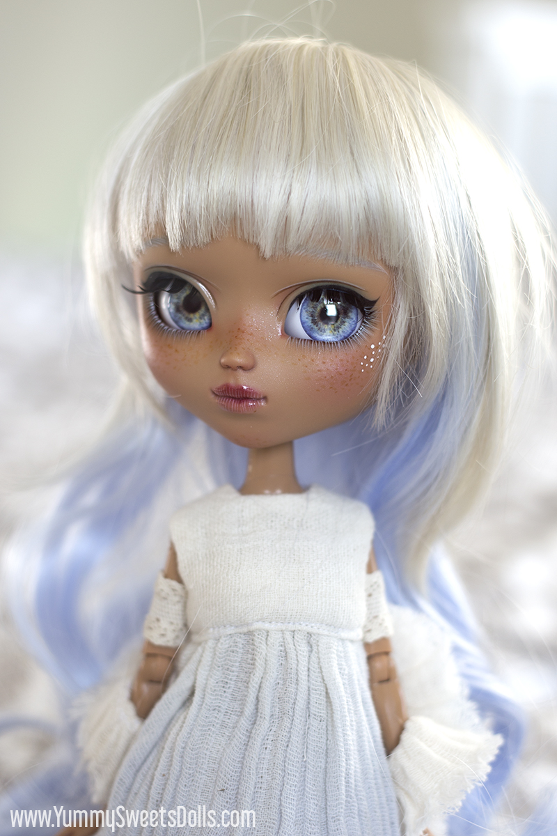 Blue Raspberry Milkshake custom Pullip by Yummy Sweets Dolls, Connie Bees