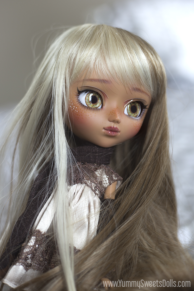 Caramel Nougat Bar custom Pullip by Yummy Sweets Dolls, Connie Bees