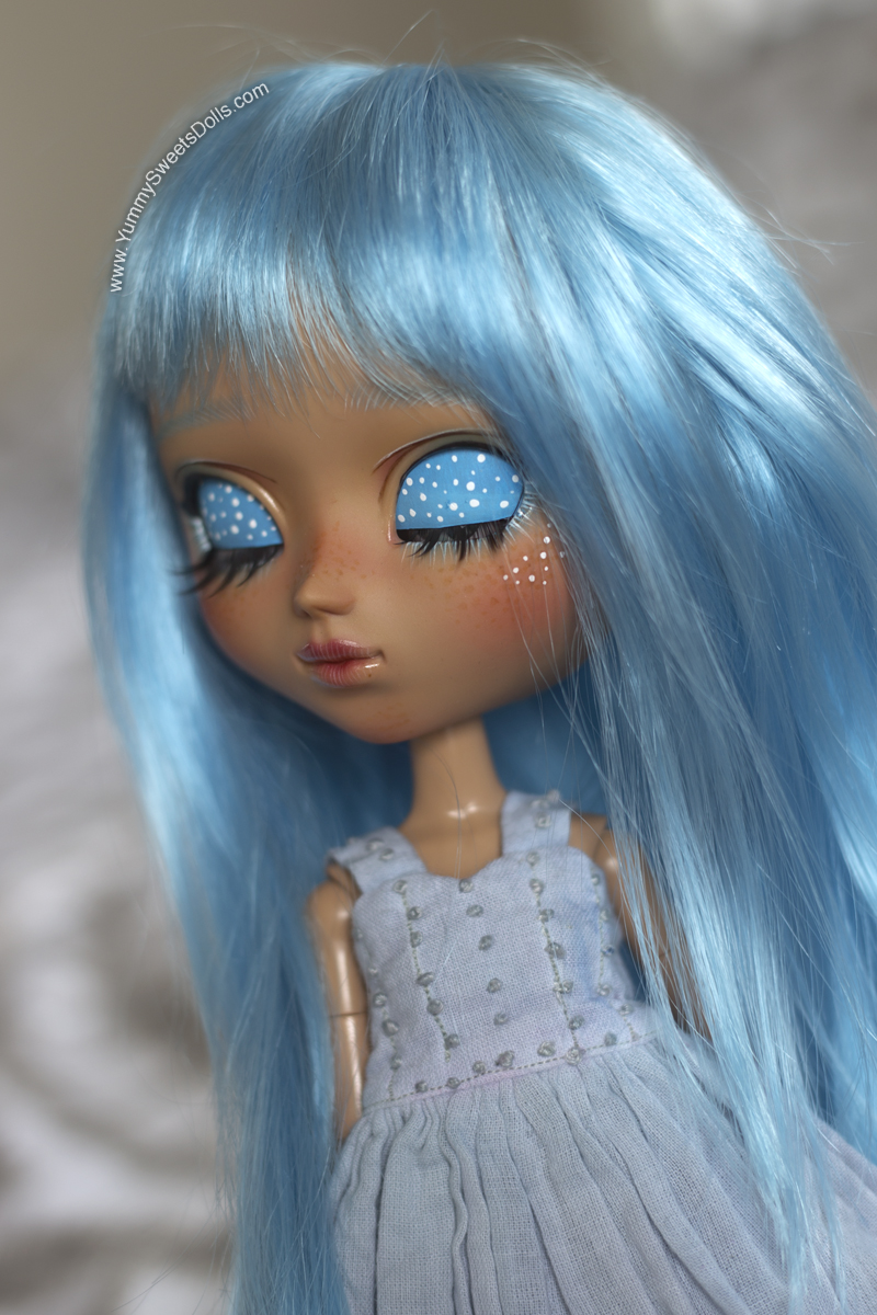 Berry Blue Jello custom Pullip by Yummy Sweets Dolls, Connie Bees