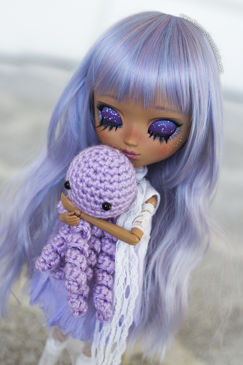 Lavender Mousse Cake full custom Pullip by Yummy Sweets Dolls, Connie Bees
