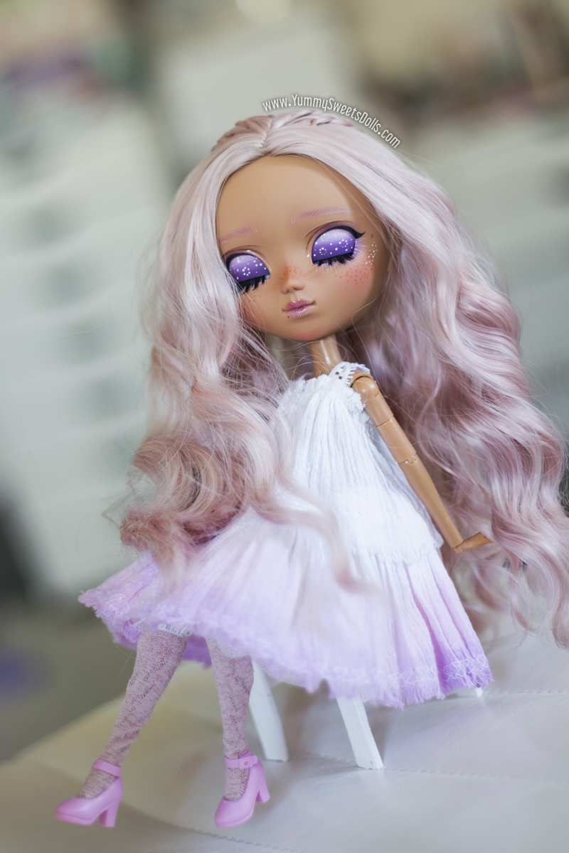 Ube Chiffon Cake full custom Pullip by Yummy Sweets Dolls, Connie Bees