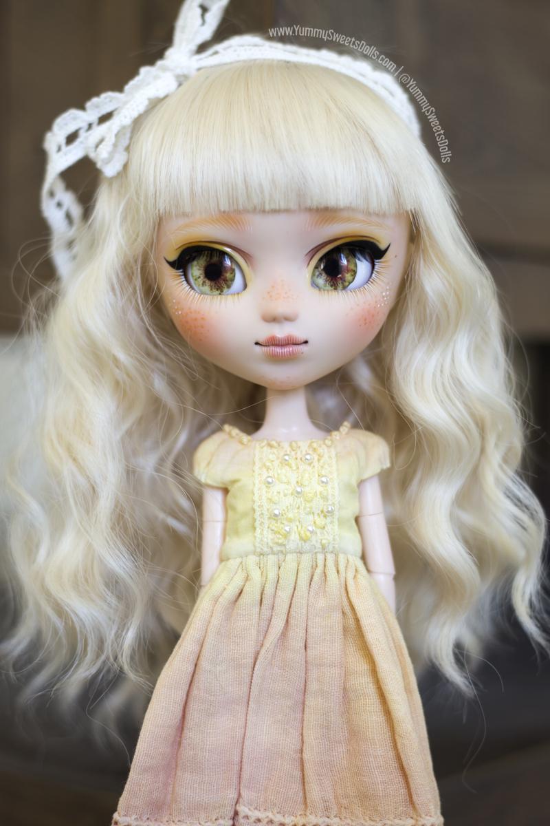 Blonde Orange Brownie full custom Pullip by Yummy Sweets Dolls, Connie Bees