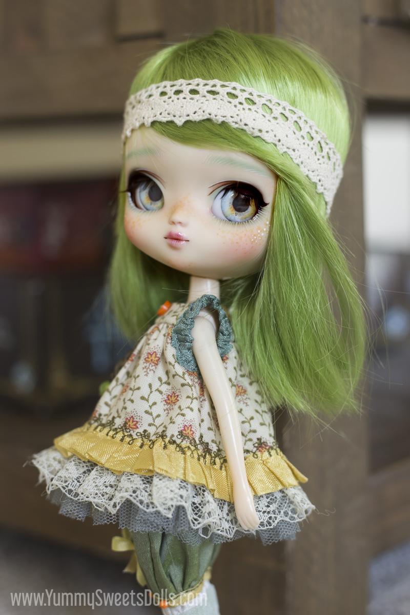 Lemon Lime Tea Cookie Yeolume full custom Pullip doll by Yummy Sweets Dolls, Connie Bees