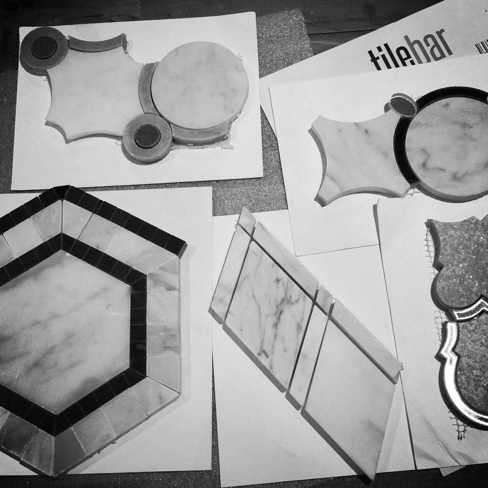 tile samples - marilyn ashley design associates