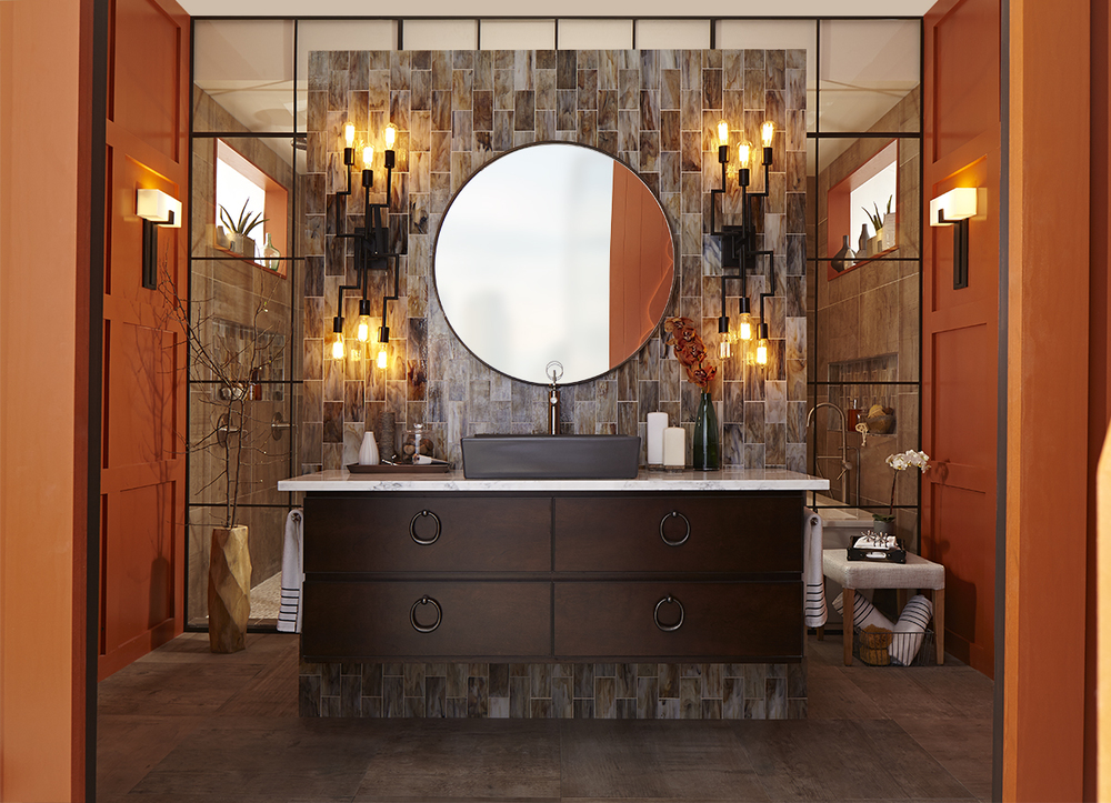 Bathroom Design for DXV, Luxury Brand for American Standard