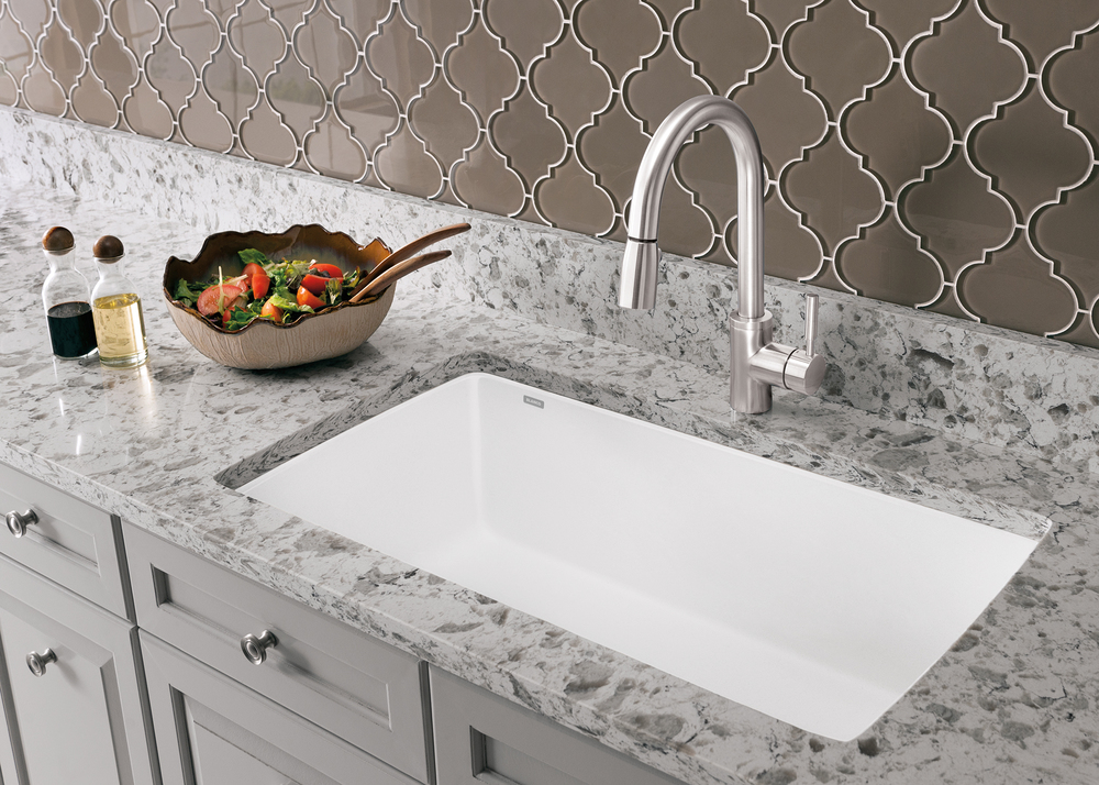 BLANCO True Undermount Kitchen Sink