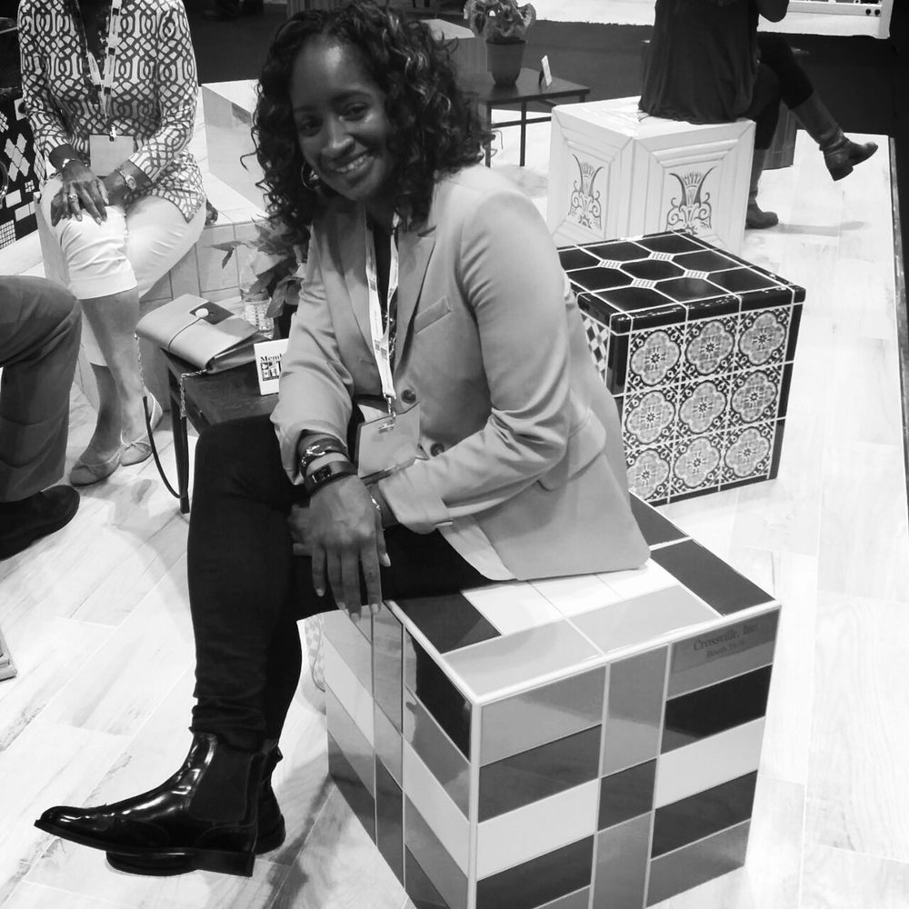 marilyn g russell - collaboration with crossville tile - coverings 2015