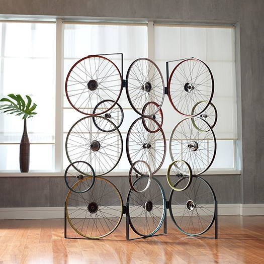 Bicycle Wheel Screen