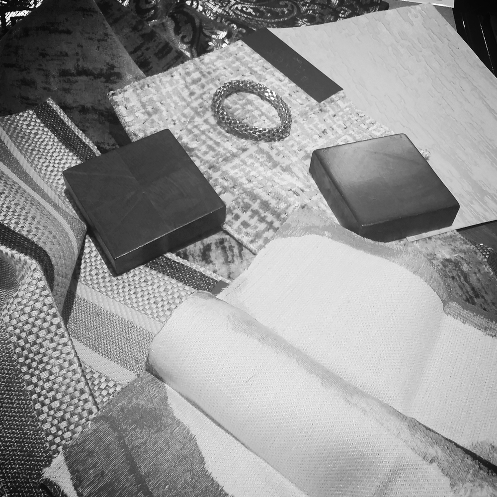 design concept - fabric selections
