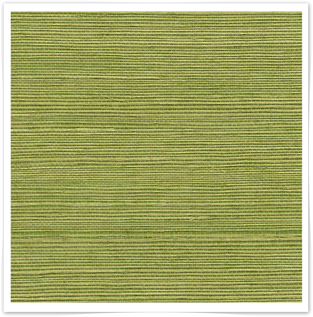 Grass Green Manila Hemp Grasscloth - Phillip Jeffries