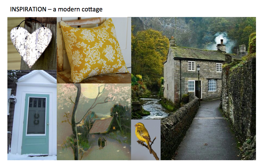 """A Modern Cottage"" - Inspiration Board"