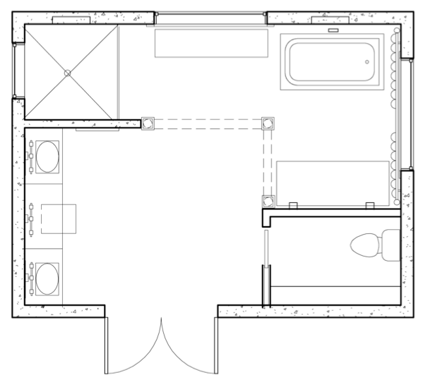 """All About Glamour"" - Floor Plan"