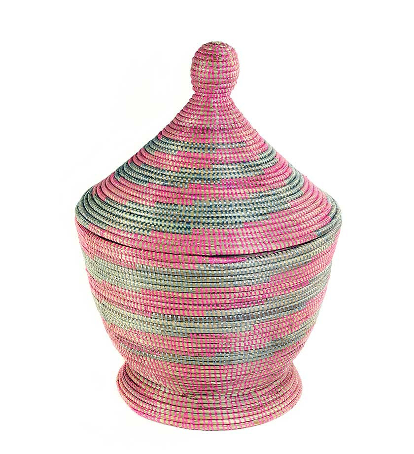 African Tagine Basket - Marilyn Ashley Design
