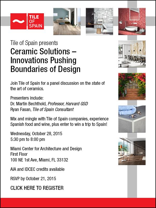 TILE of SPAIN CEU Event