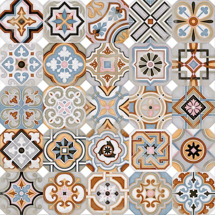 Octogono Musichalls Multicolor - Porcelain Tile