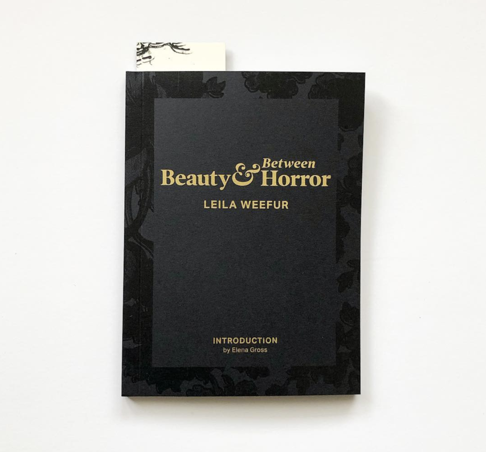 Published by  Sming Sming Books & Objects   Essays by Leila Weefur & Elena Gross