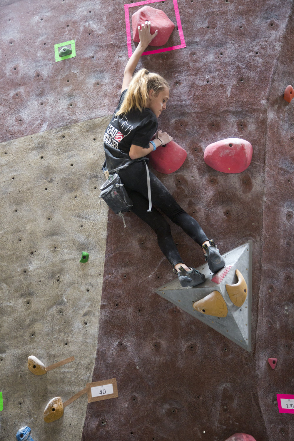 High School Club Program - A club program for local high school students to learn climbing along side a coach and compete against other schools in low-intensity competitions at the end of the year.
