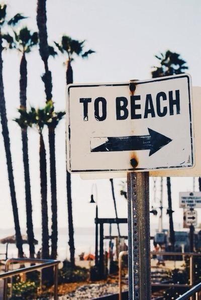 sign_tobeach