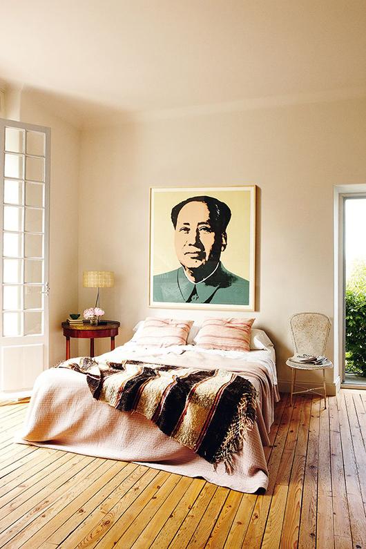 slaapkamer Biarritz
