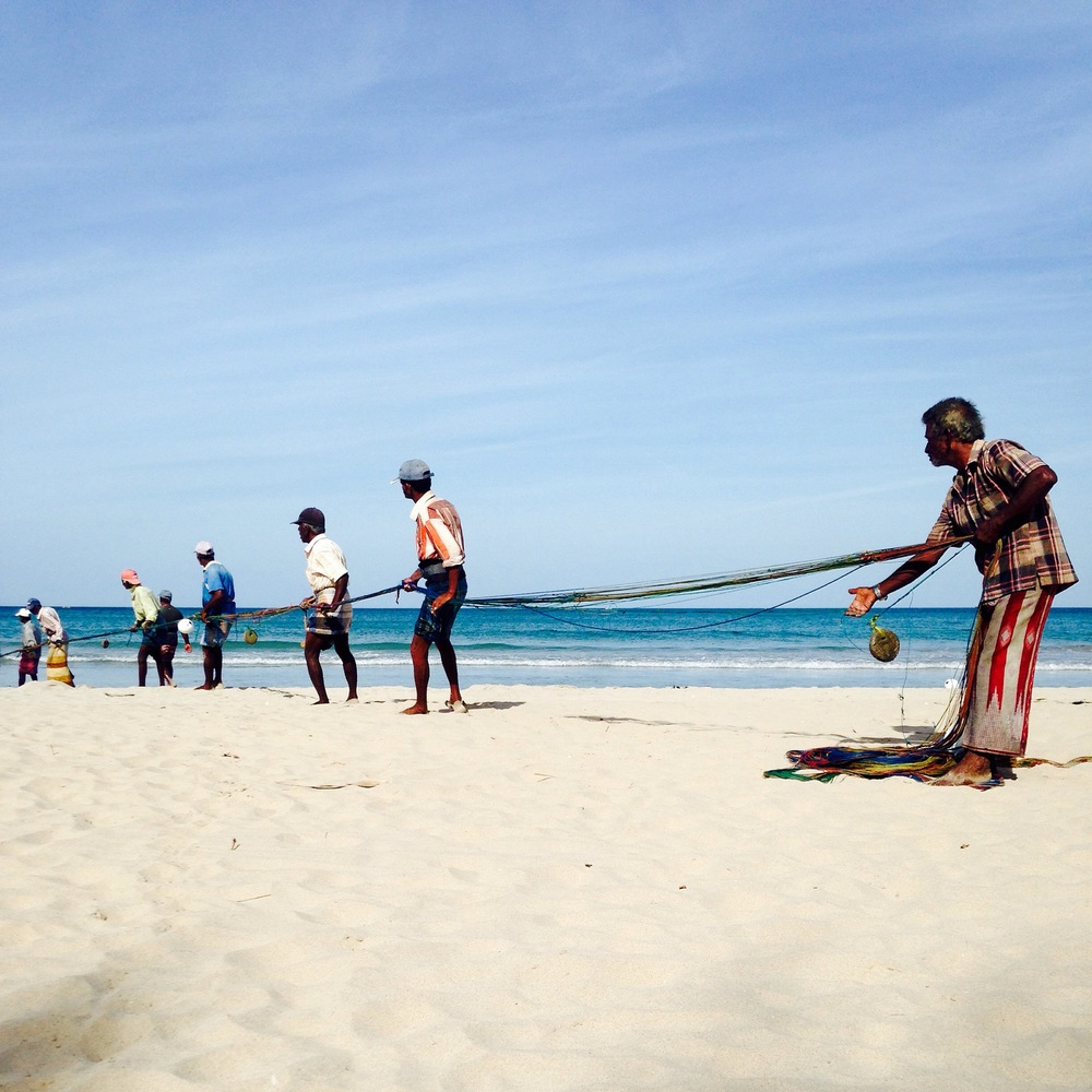 strandleven op Sri lanka