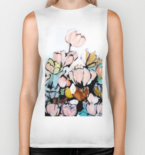 """Faces II"" Biker Tank"