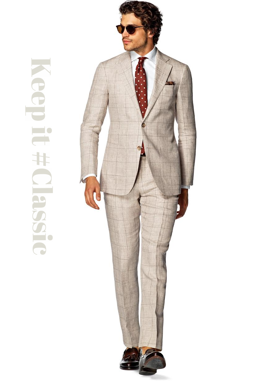 Suit Supply Linen Suit