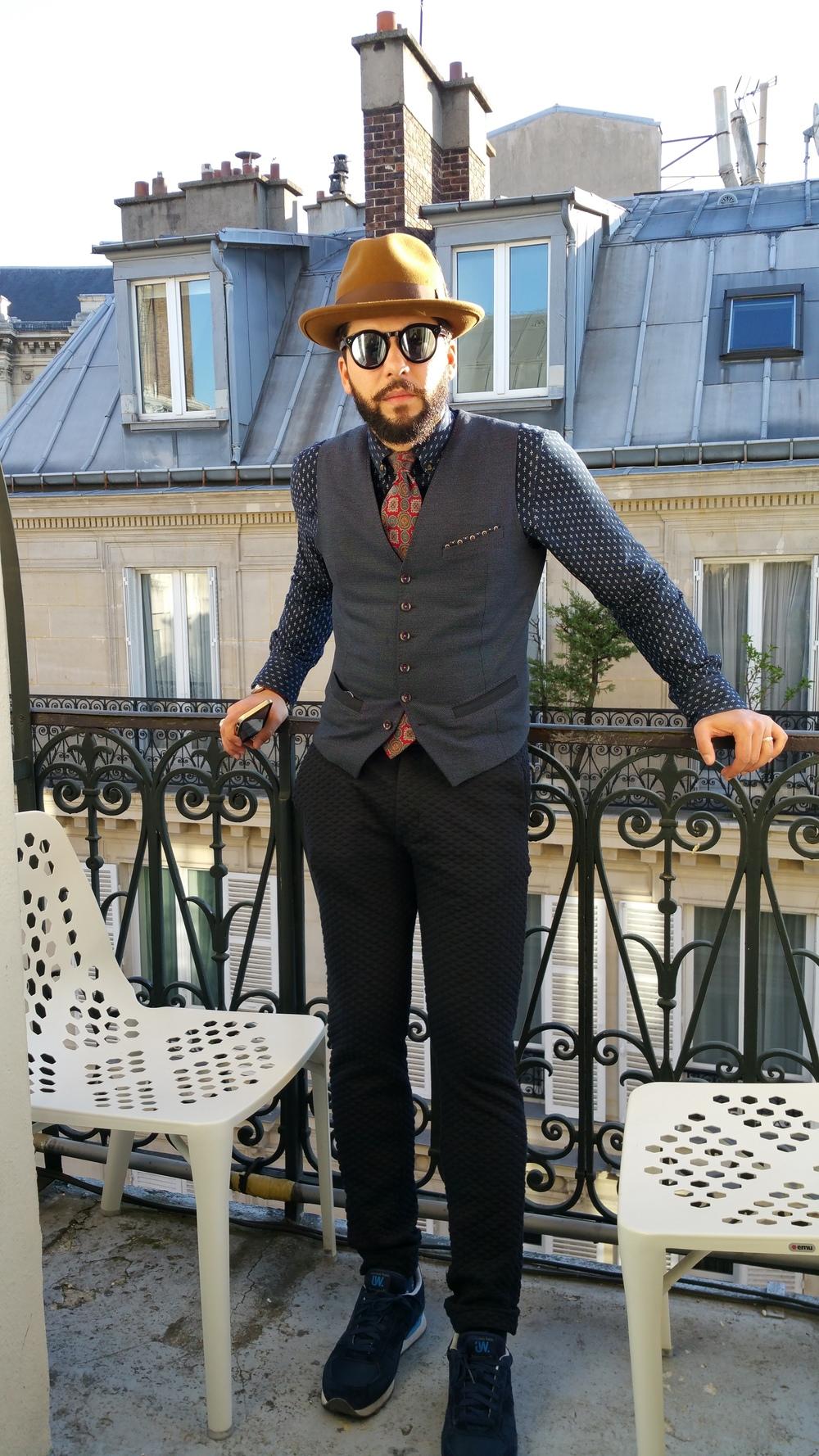 Balcony in Paris