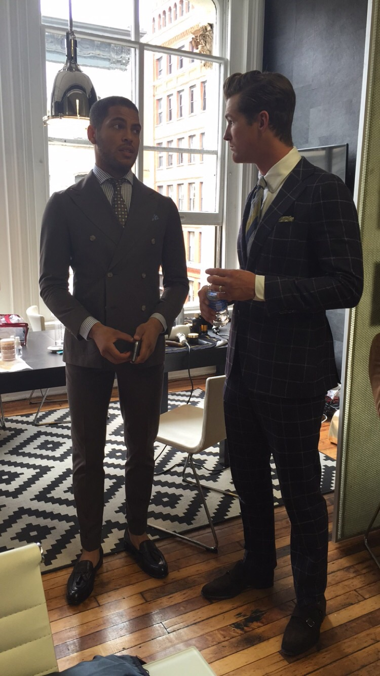 Classic or Double Breased their expert team of sartorial attendants will guide you in the right direction.
