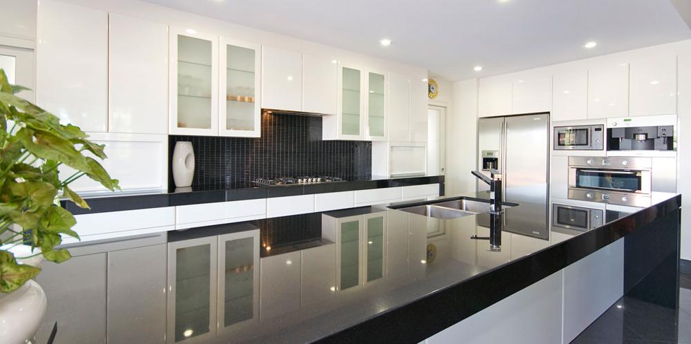 Granite la shop granite - Comptoir de cuisine noir ...