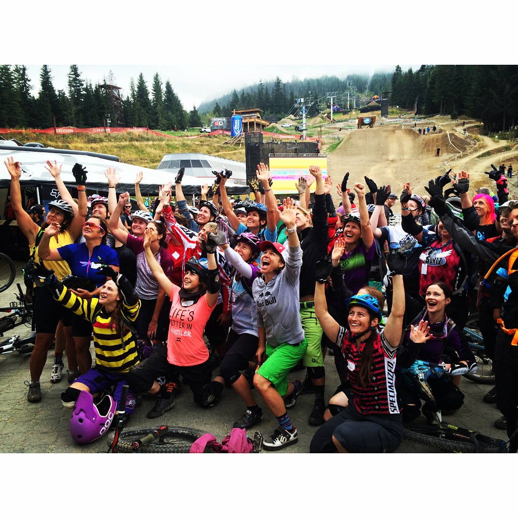 Girls are RAD. SRAM Gold Rusch Tour. Coaching women is pretty awesome.