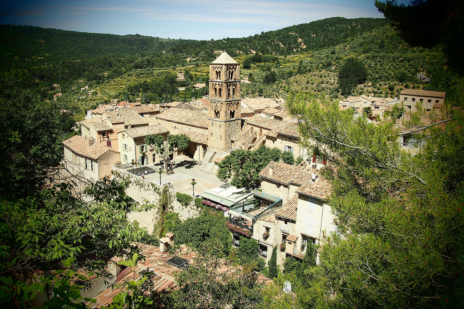 Moustiers St Marie, France