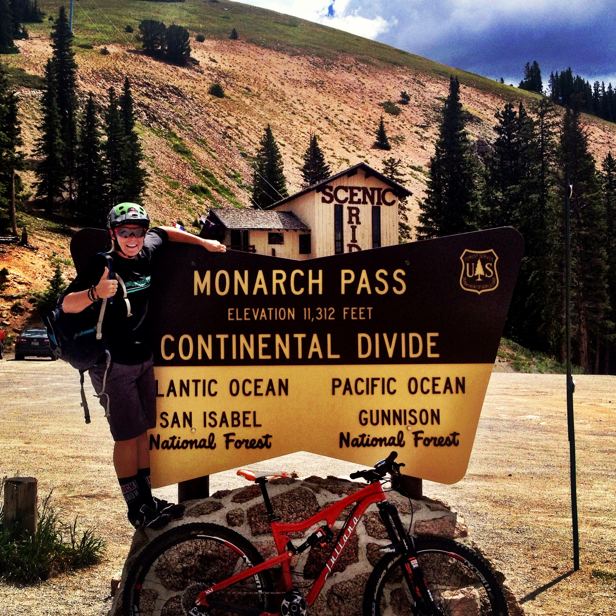 Monarch Crest Trailhead.