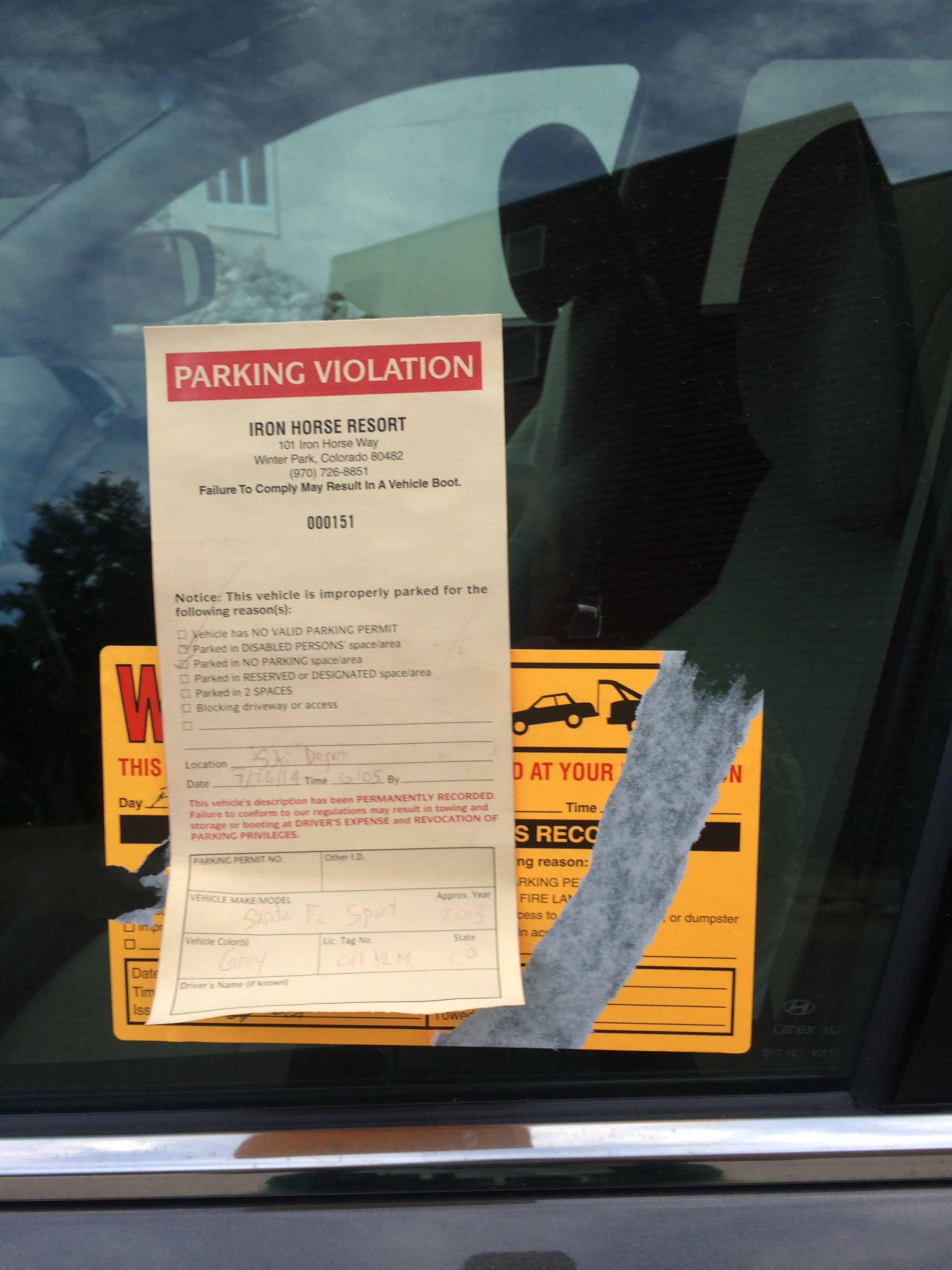 The usual American laws & stuff. Oops. Just remember to wind down the window when you return the rental.