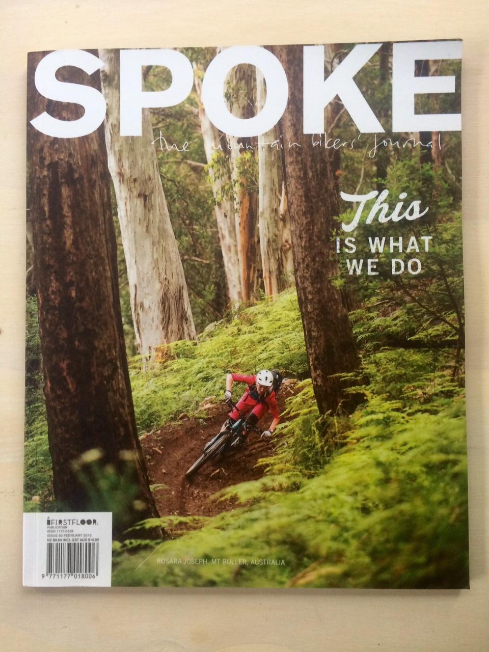 Spoke Magazine, NZ 2015