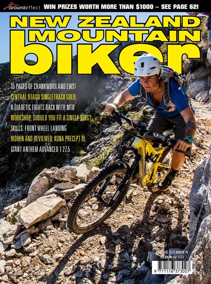 NZ Mountain Biker Cover 2015