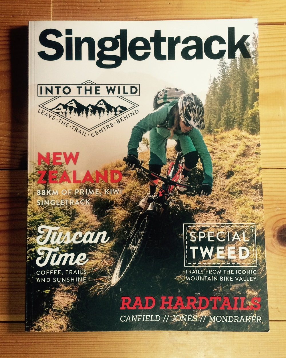 Singletrack Magazine UK 2015 - 11 pg article on The Old Ghost Road, NZ.