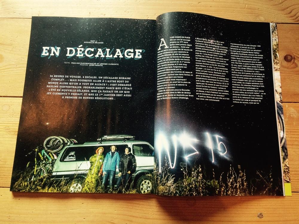 Dirt Magazine France 2014 NZ Travel story