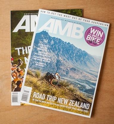 Australian Mountain Bike - Cover 2015