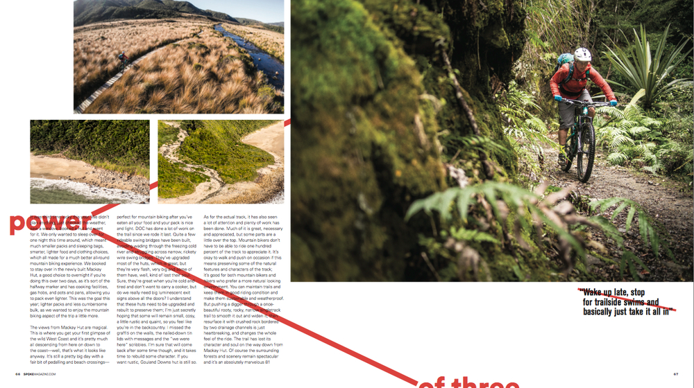 Heaphy article, Spoke Magazine 2015