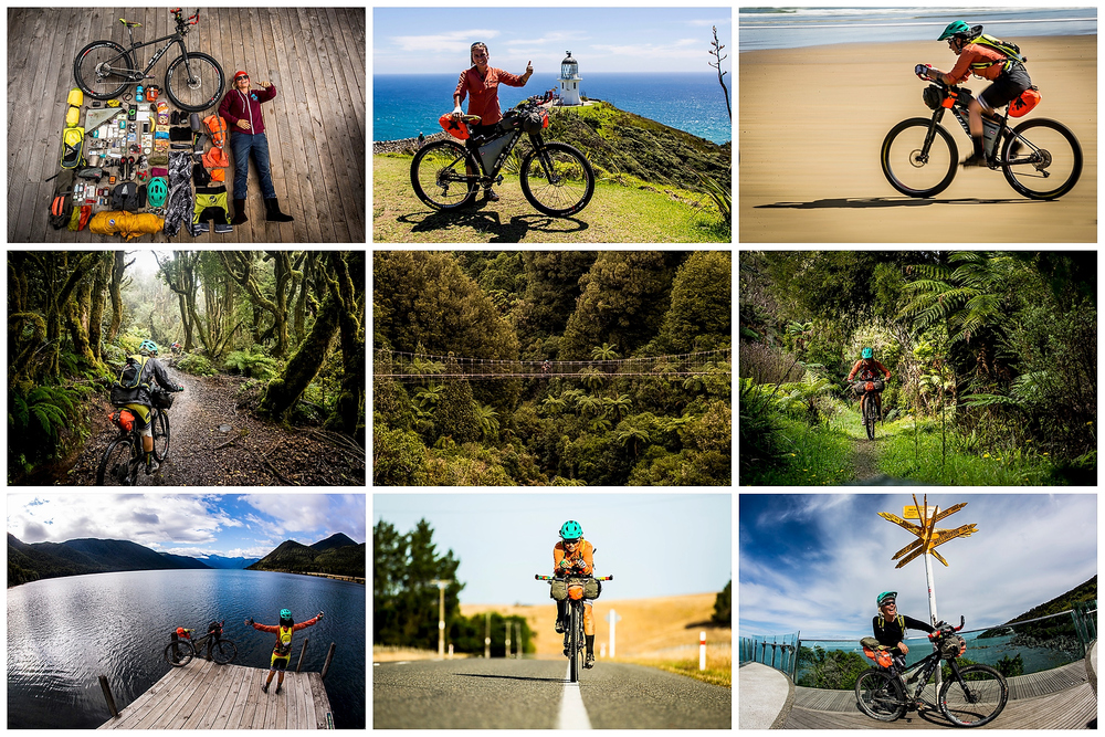 A little teaser into my life on the Tour, from the start at Cape Reinga to the finish 3046km later at the Bluff at the bottom of the South Island.
