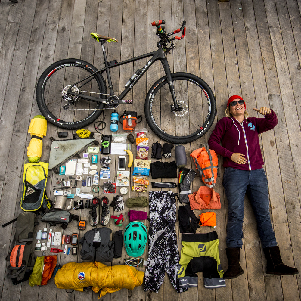 Complete List Gear Around The World Bicycle Bikepack Tour