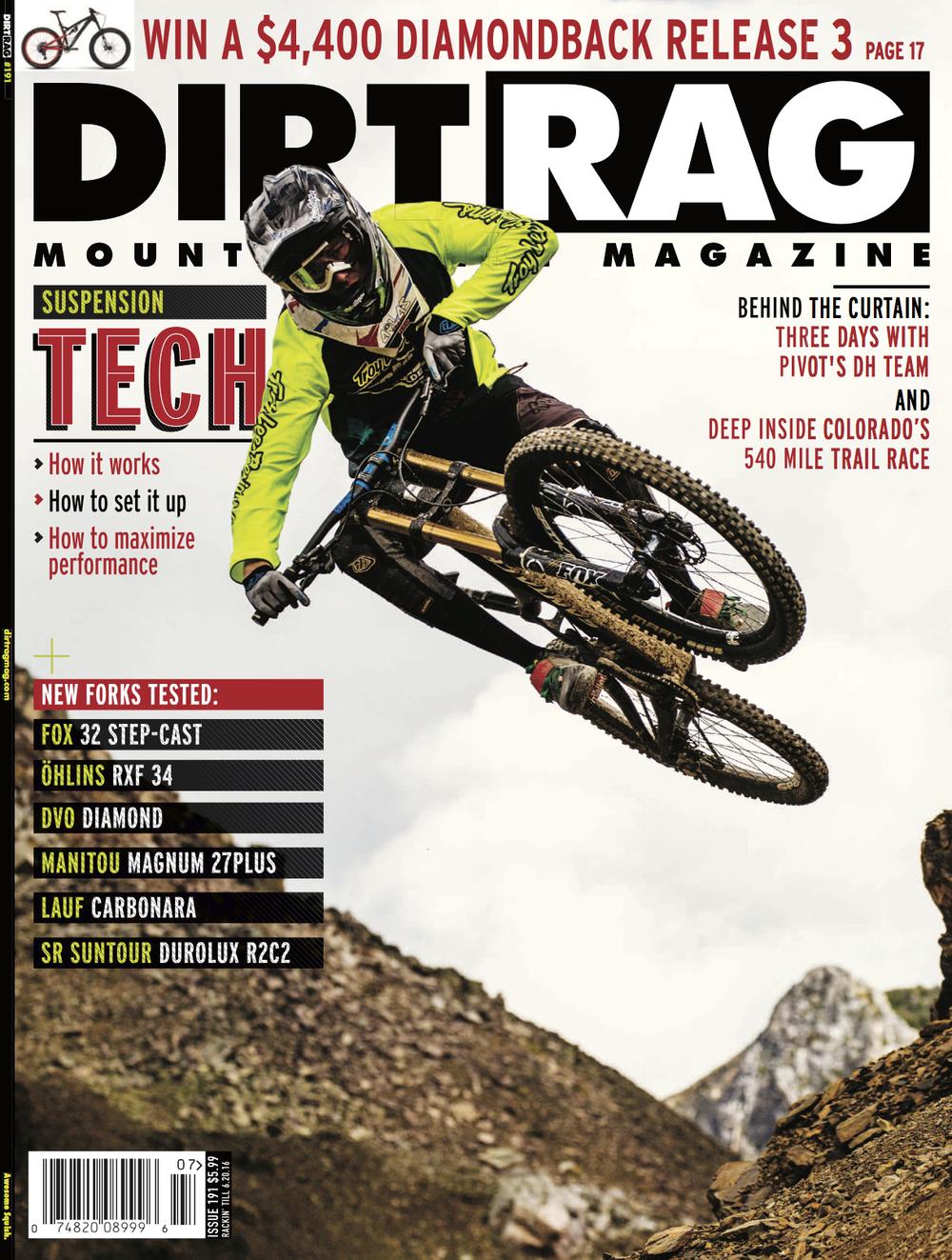 Dirt Rag Magazine 2016